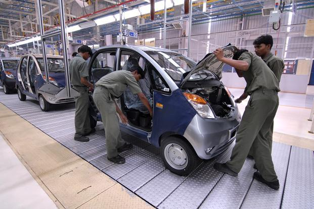 Workers at Tata - Nano