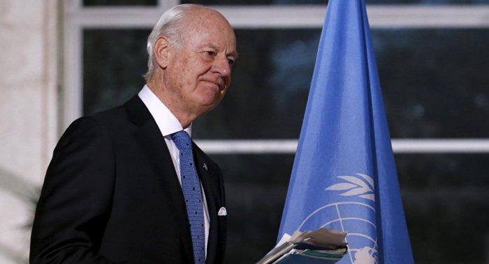 UN special envoy for Syria: Staffan De Mistura