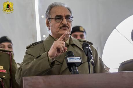 Libya strong man Gen Khalifa Haftar