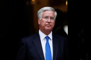 UK Defense Secretary Michael Fallon